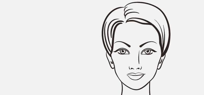 5 puikios antakių formos širdies formos veidui