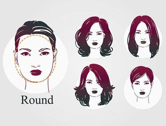 20 najviac lichotivých účesov pre okrúhle tváre