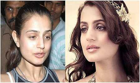 10 fotografií z Amisha Patel bez make-upu