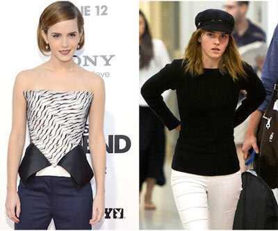 10 obrázkov Emma Watson bez make-upu