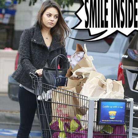 10 fotografií Mila Kunis bez make-upu