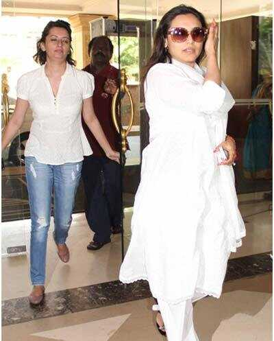 10 billeder af Rani Mukherjee uden makeup