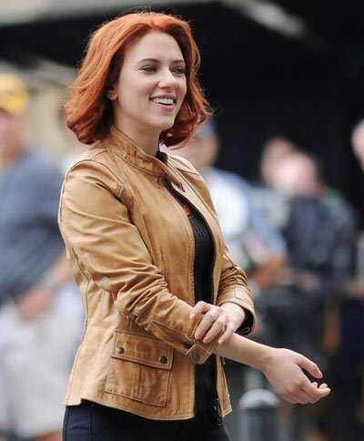 10 nuotraukų iš Scarlett Johansson be makiažo