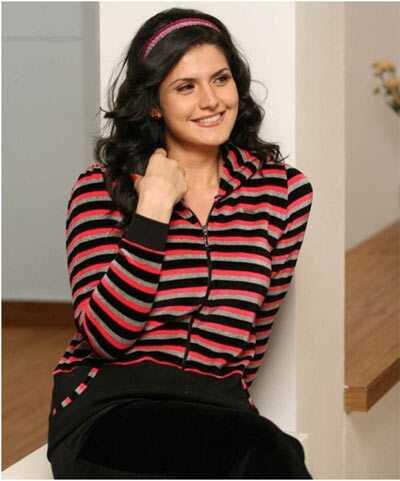 10 fotografií Zarine Khan bez make-upu