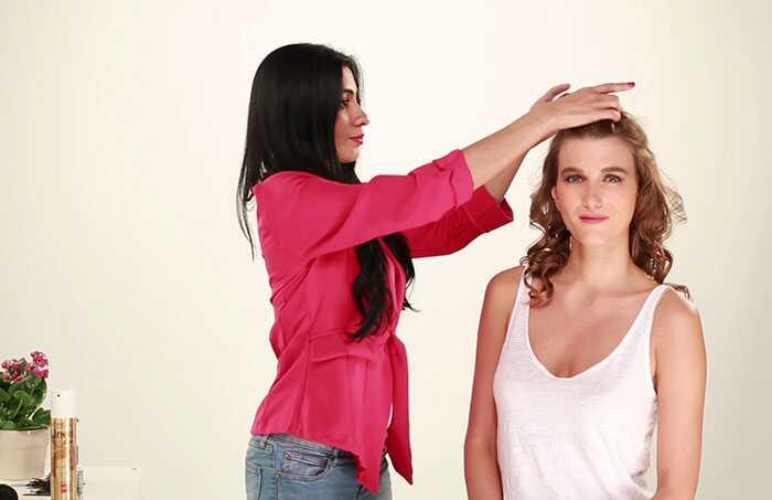 Puff frizura DIY - korak po korak tutorijal