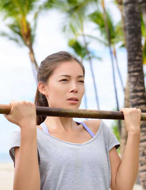 Pull-Up u 7 koraka za žene i 10 naprednih varijacija
