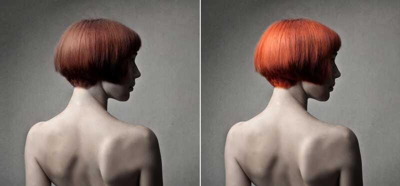 Rød hårfarve Guide - hvilken farve passer dig bedst?