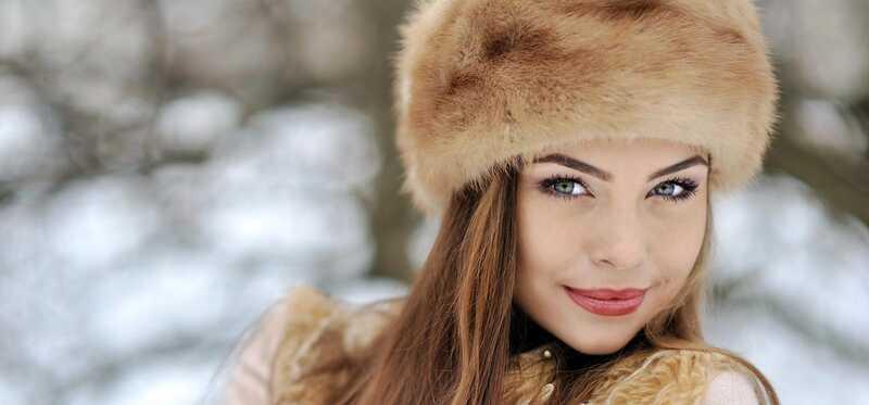 Ruské make-up, krásu a fitness tajomstvo odhalenie
