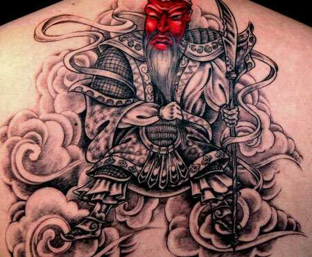 Top 10 tetovanie samurajov