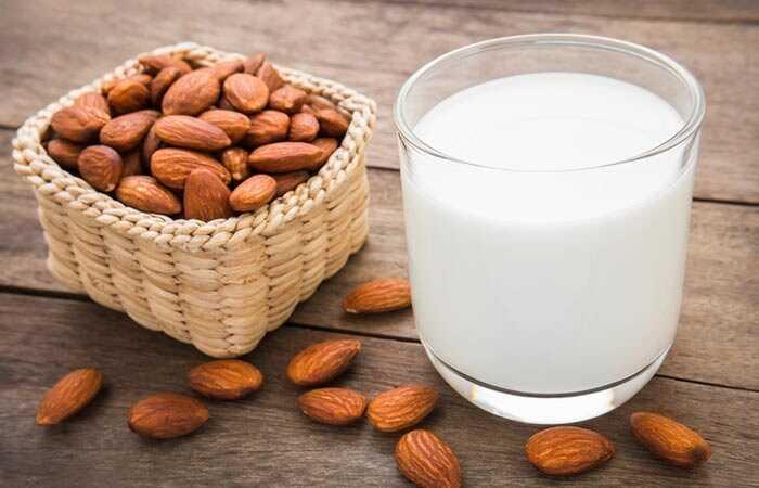 10 závažných vedľajších účinkov mandľového mlieka