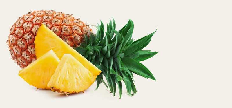 6 závažných vedľajších účinkov ananásu