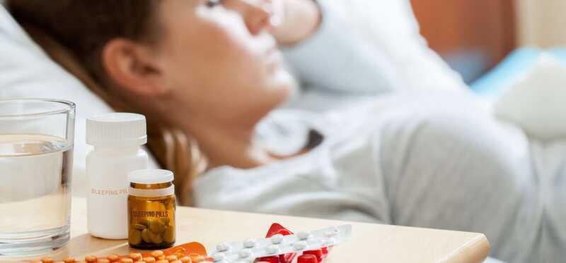 10 závažných vedľajších účinkov liekov na spanie