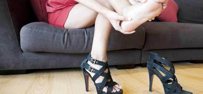 10 bivirkninger ved at bære høje hæle