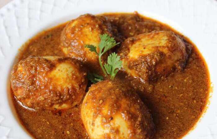 15 enkle og hurtig æg Curry opskrifter