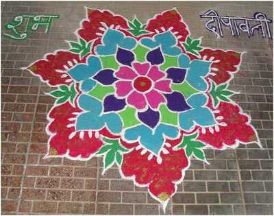 30 enkle og enkle Rangoli designs til at prøve denne festlige sæson