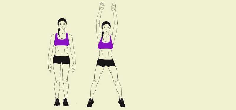 5 enkle trin til at praktisere Star Jumps