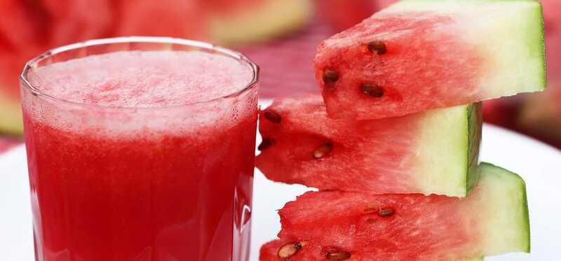 6 jednoduchých krokov na prípravu šťavy v melóne