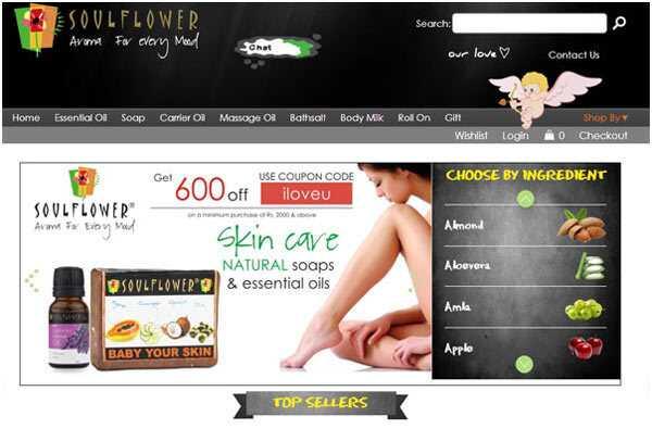 Soulflower.biz Recenzia - čestný on-line Shopper Recenzie