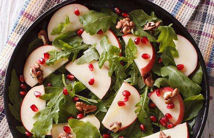 Top 20 zdrave vegeterijanske salate recepti