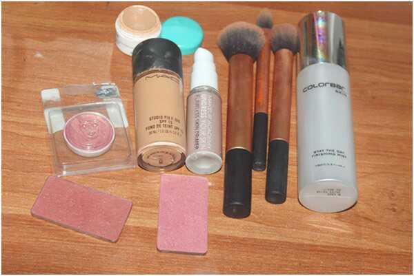 5 krokov tutoriál dostať žiarivý make-up pleti