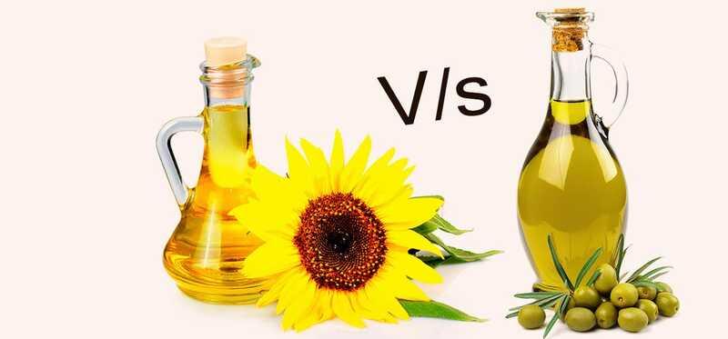 Slnečnicový olej vs olivový olej - čo je lepšie?