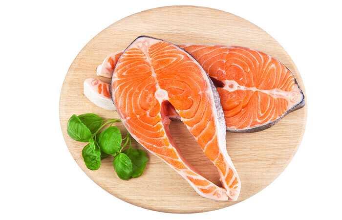 15 prínosy z lososa