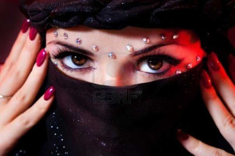 Skønhedshemmeligheder for kvinder fra de arabiske lande!