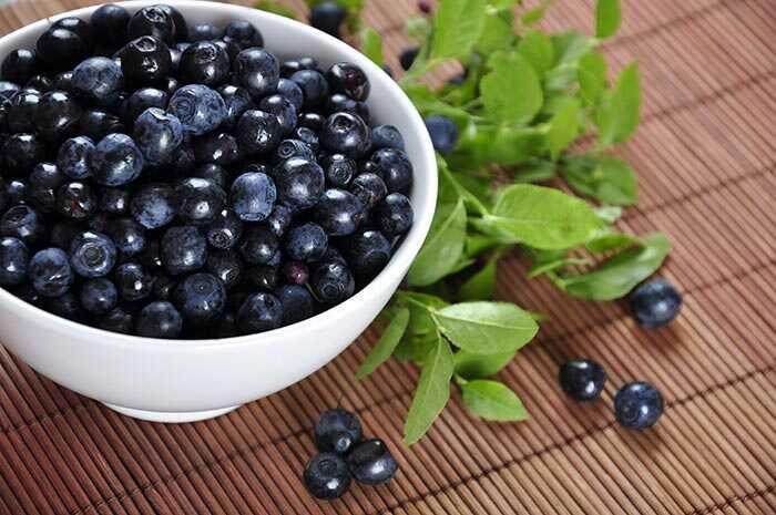 10 små kendte fordele ved blåbær til hud, hår og sundhed