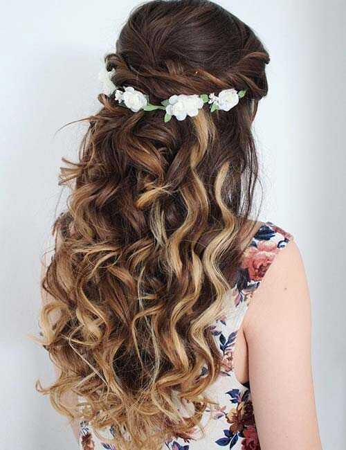20 peinados lindos para cabello largo