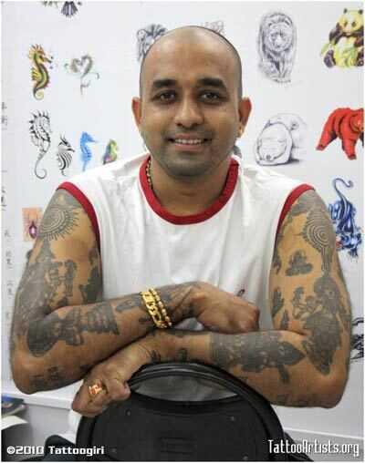10 najlepších miest, kde môžete získať svoje Tatto Inked v Bangalore