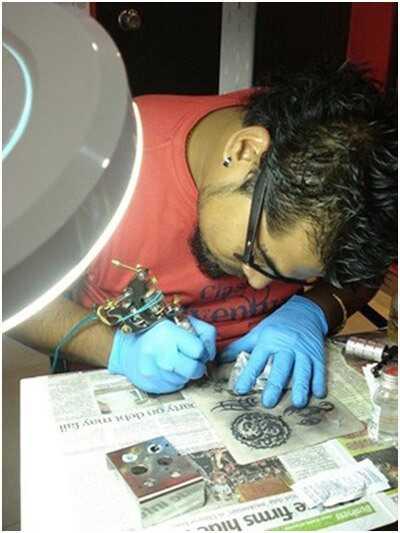 10 geriausių vietų, kad jūsų tatuozė būtų užpildyta rašalu į Haidarabadą