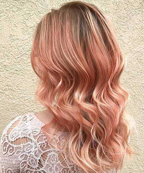 20 Rose Gold Hair Color Ideas trending in 2017