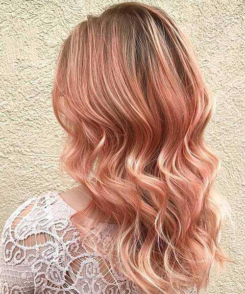 20 Rose Gold vlasy nápady farieb trendy v roku 2017