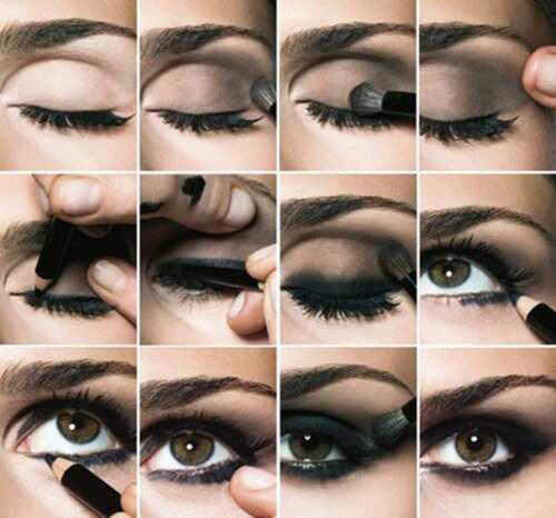 Ako urobiť Smokey očné make-up? Top 10 tutoriály