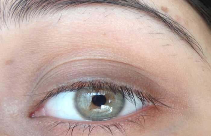 Mokomoji medžiaga - kaip skaistalai naudoti kaip akių šešėlį