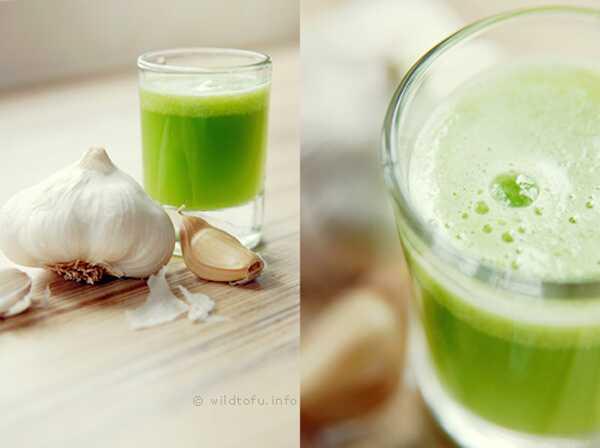 10 fantastiske sundhedsmæssige fordele ved hvidløgsjuice