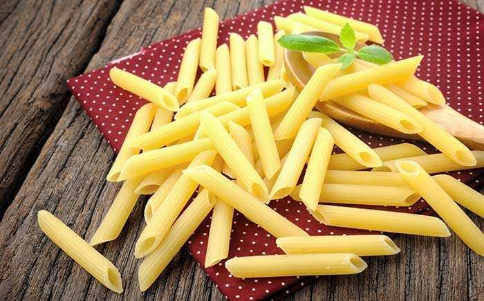 5 soorten pasta's en hun verschillen