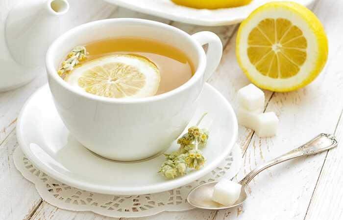 10 neočakávaných vedľajších účinkov citrónového čaju