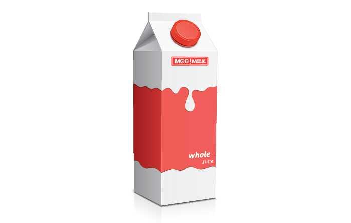 9 odrody mlieka dostupné na trhu