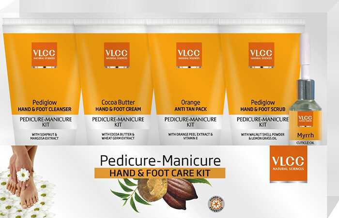 Revisão do kit VLCC Pedicure & Manicure