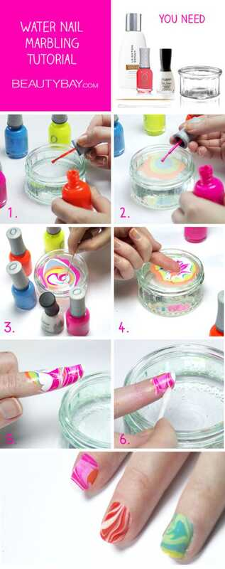 Top 10 water marmer nagel art tutorials