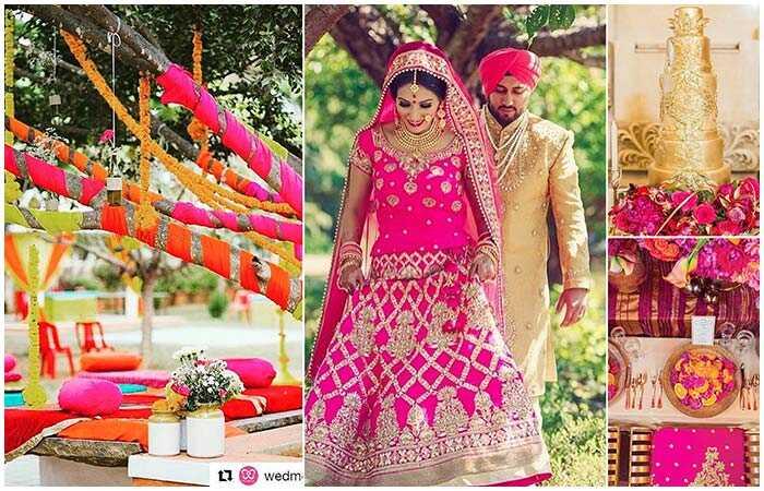 Svadobné farby Nápady na kombináciu