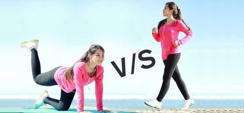 Jakie są różnice pomiędzy jogą a chodzeniem?