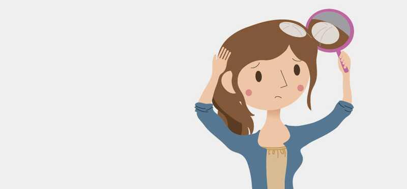 Biele vlasy Patches-Jej príčiny a liečby