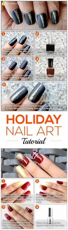 2 geweldige Holiday nail art tutorials
