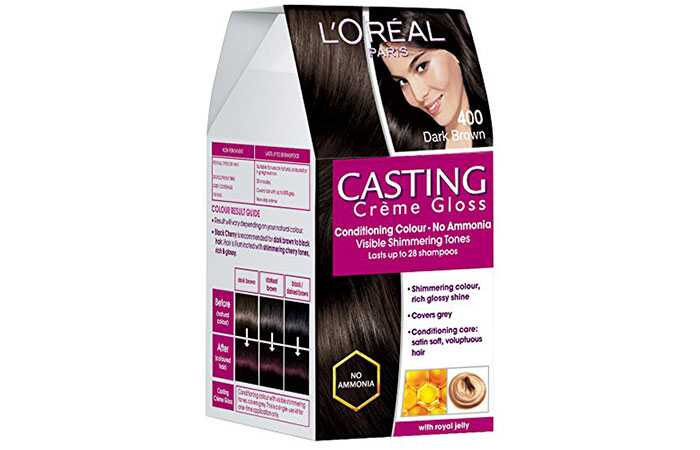 Top 10 farieb farieb vlasov bez amoniaku k dispozícii