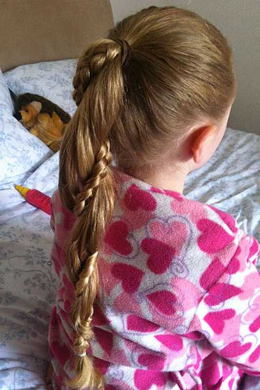 20 Braids voor kleine meisjes