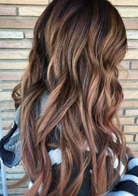 30 ohromujúcich nápadov farby vlasov Balayage