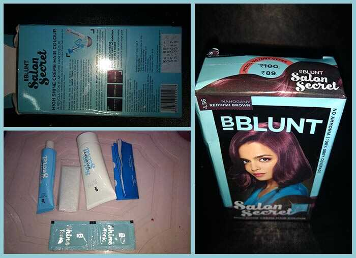Review ng BBlunt Salon secret Mahogany Reddish Brown