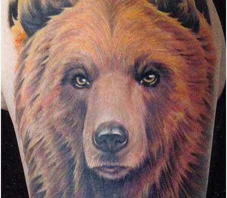 Top 10 disegni del tatuaggio dell'orso